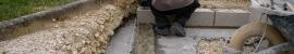 Maçonnerie de blocs de béton